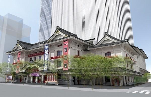 新しい歌舞伎座